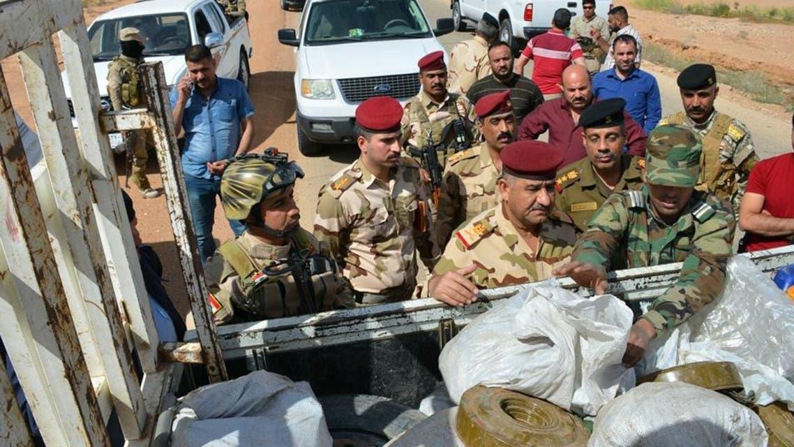 العراق ضبط متفجرات