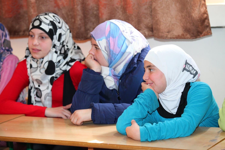 Children in Ghaza Public School in the Bekaa valley, Lebanon (Photo: Roudy Lattouf)
