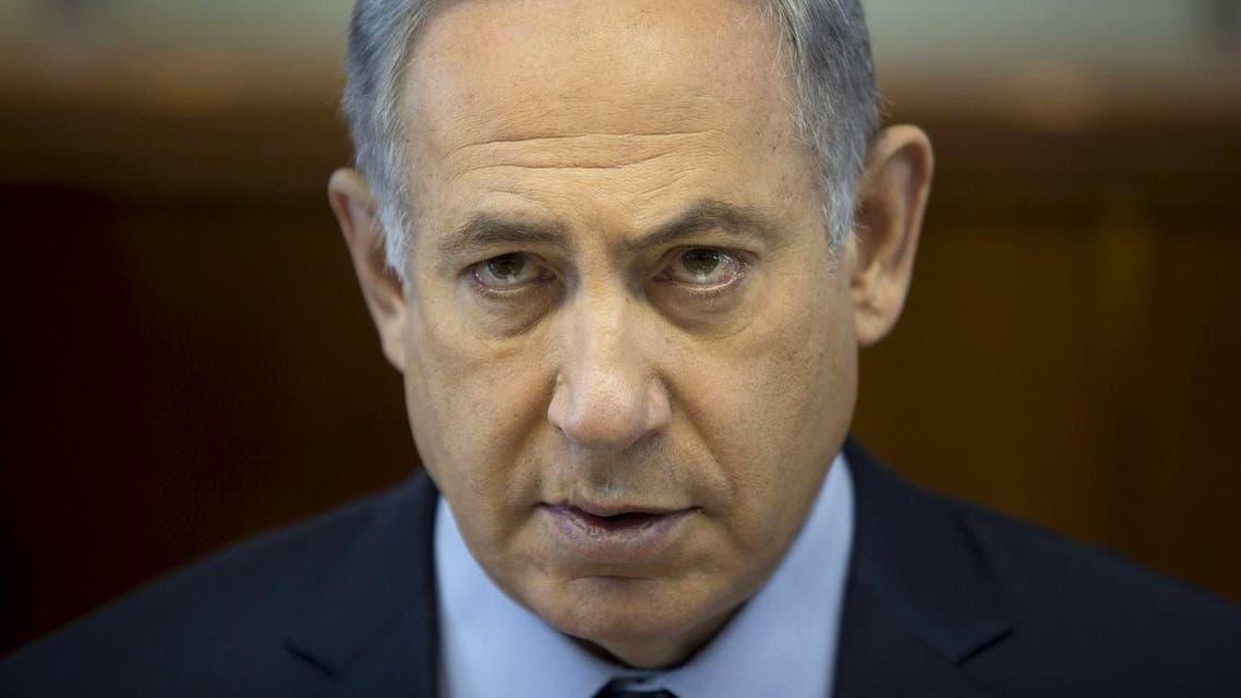 Israeli Prime Minister Benjamin Netanyahu attends the weekly cabinet meeting at his office in Jerusalem March 6, 2016. REUTERS/Abir Sultan/Pool