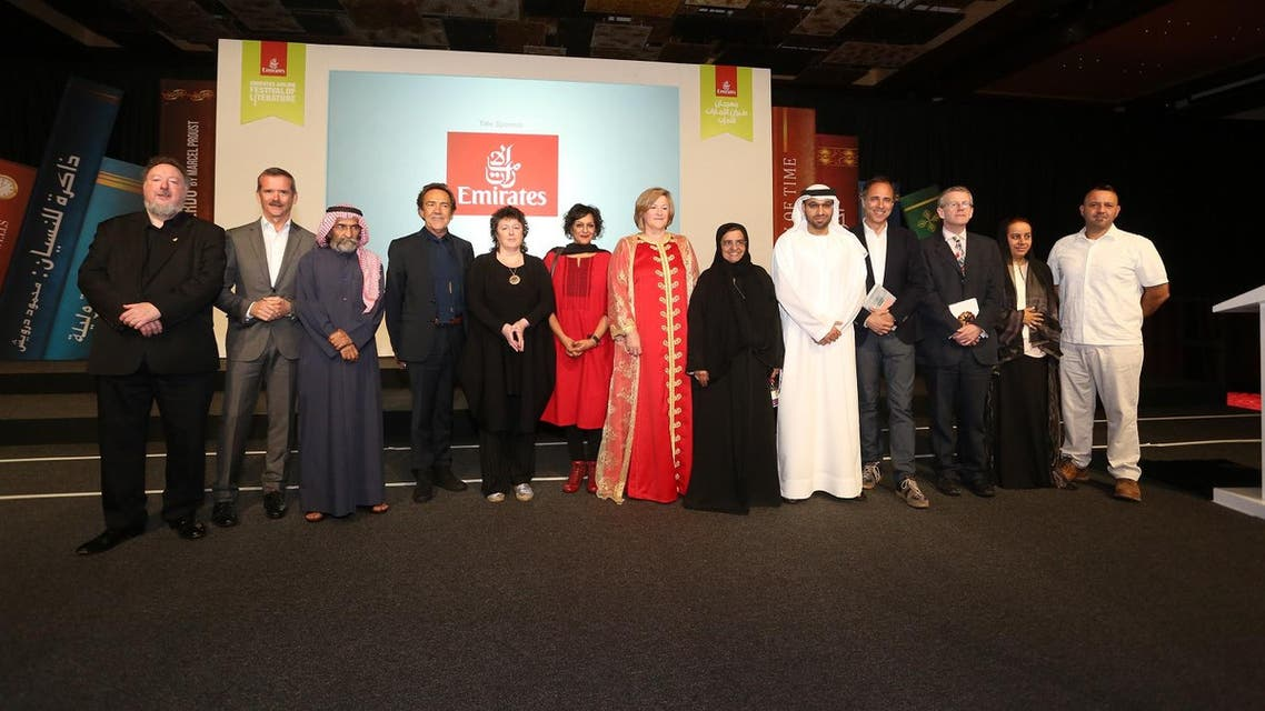 A number of literary stars also took to the stage including new James Bond author Anthony Horowitz. (Emirates Literature Festival)