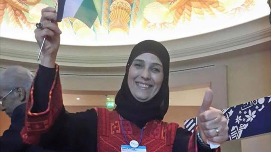 المعلمة الفلسطينية حنان الحروب