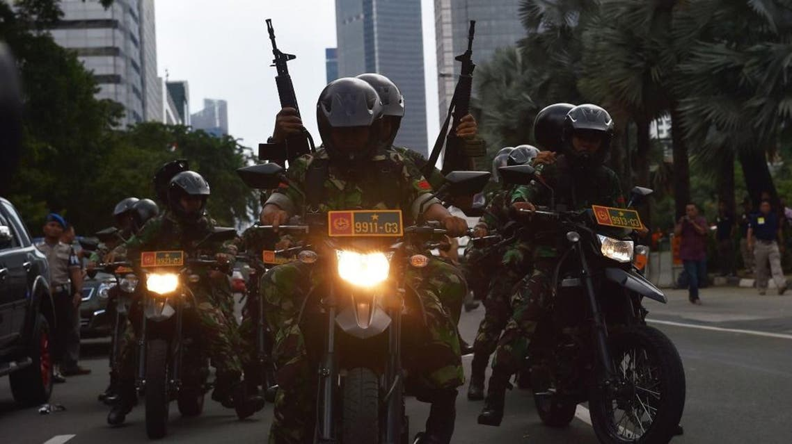 Indonesian authorities have complained that weaknesses in the country's anti-terror laws make it difficult to stop would-be militants heading abroad, and parliament is considering adopting tougher measures (AFP)