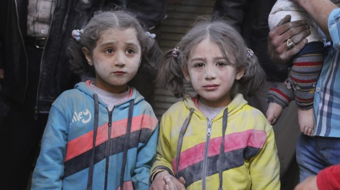 Some 2.8 million Syrian children in Syria or neighboring countries are not attending school (Reuters)