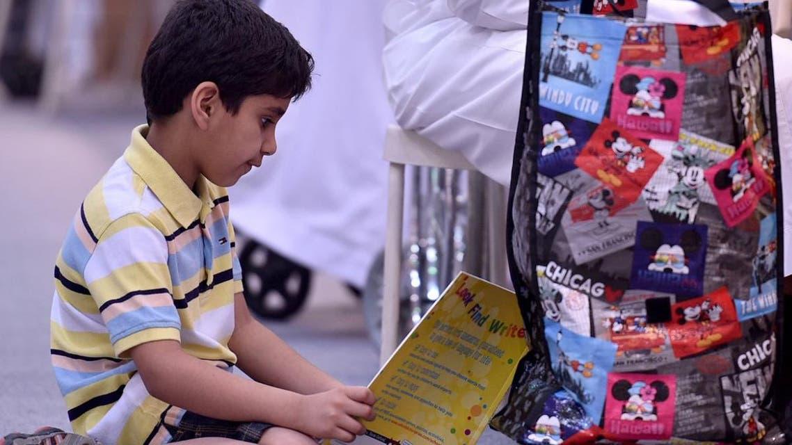 شاهد.. ملكة حب القراءة لدى أطفال معرض الكتاب