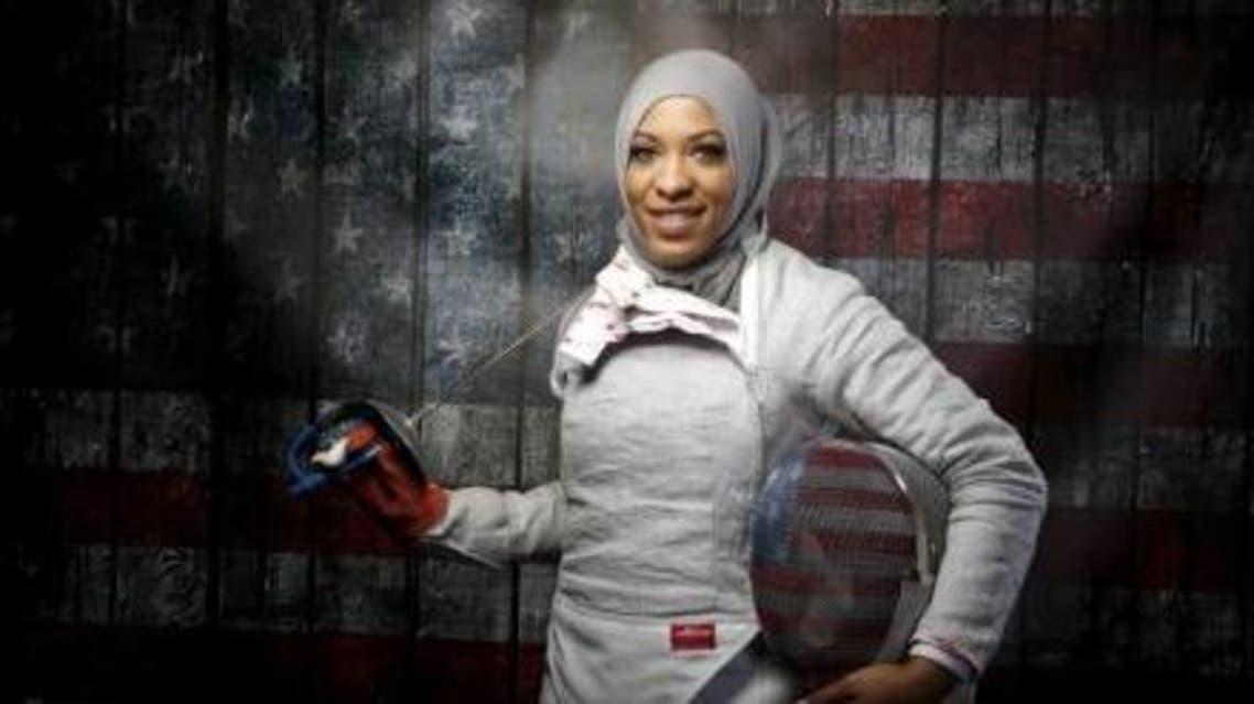 الاعبة الأولمبية الأمريكية ابتهاج محمد
