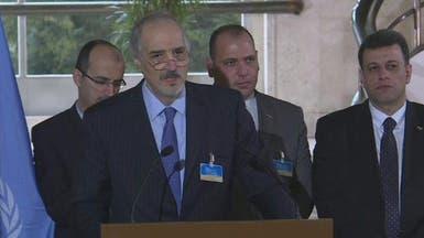 ممثل الأسد يعتبر كبير مفاوضي المعارضة إرهابيا وعلوش يرد
