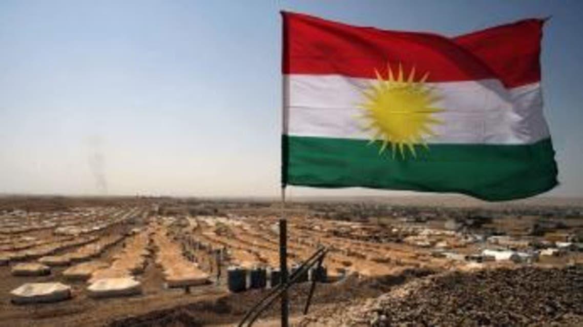 علم أكراد سوريا