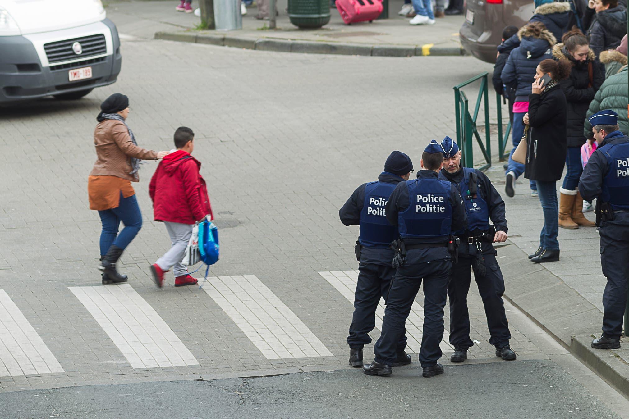 Gun siege in Belgium
