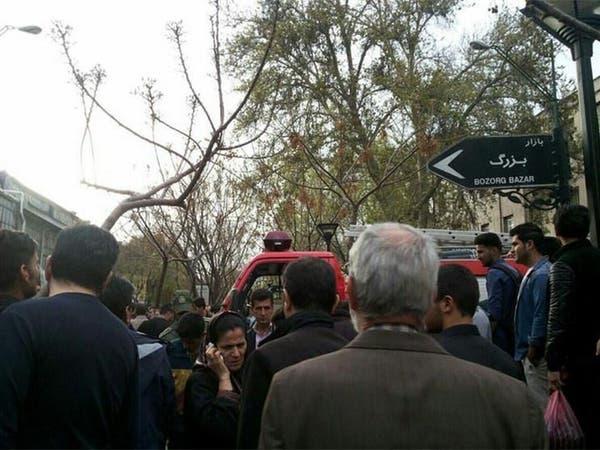 إيران.. انفجار ضخم يهز سوق طهران وإصابة 39 شخصاً