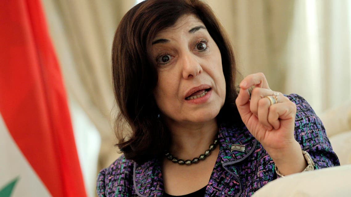 Bouthaina Shaaban, envoy of Syrian President Bashar al-Assad, speaks during an interview in Beijing August 15, 2012. (Reuters)