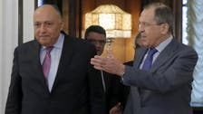 Lavrov says agrees to try to resume flights with Egypt in shortest time