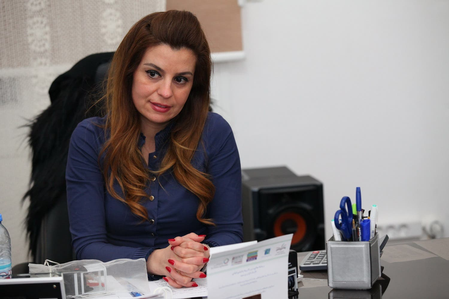Official School for Boys in Lebanon's Cosba, director, Mireille Abbod (Photo: Roudy Lattouf)
