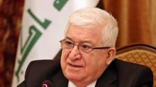 فؤاد معصوم: يجب بناء جيش عراقي دفاعي وطني ومهني
