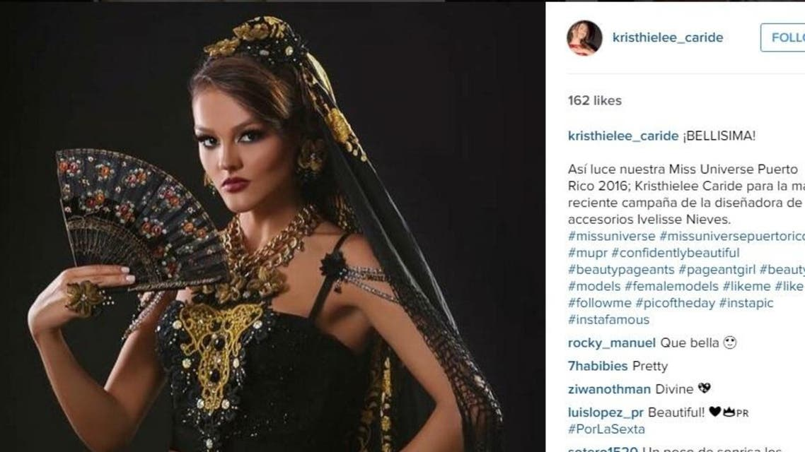 It is the first time a Puerto Rico Miss Universe contestant has lost her crown before the big event is held. (Photo courtesy: Instagram @Kristhielee_Caride)