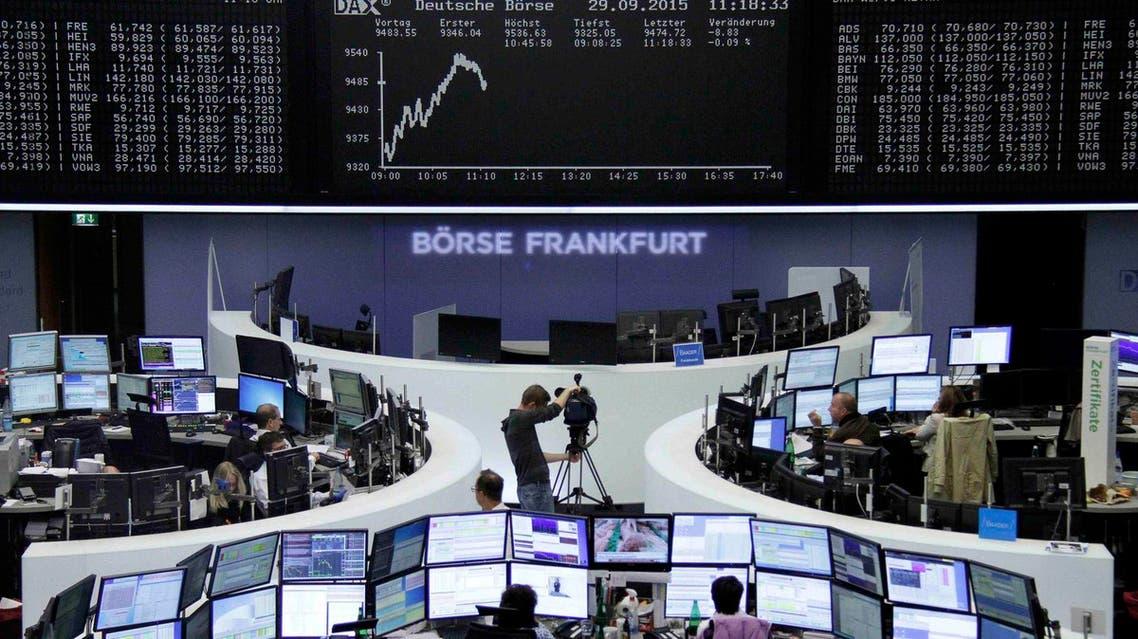 بورصة - أوروبا -أسواق - فرانكفورت