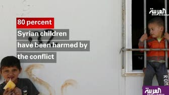 Video: 80% of Syria's children harmed by civil war
