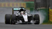 Hamilton fastest in wet opening practice at Australian GP