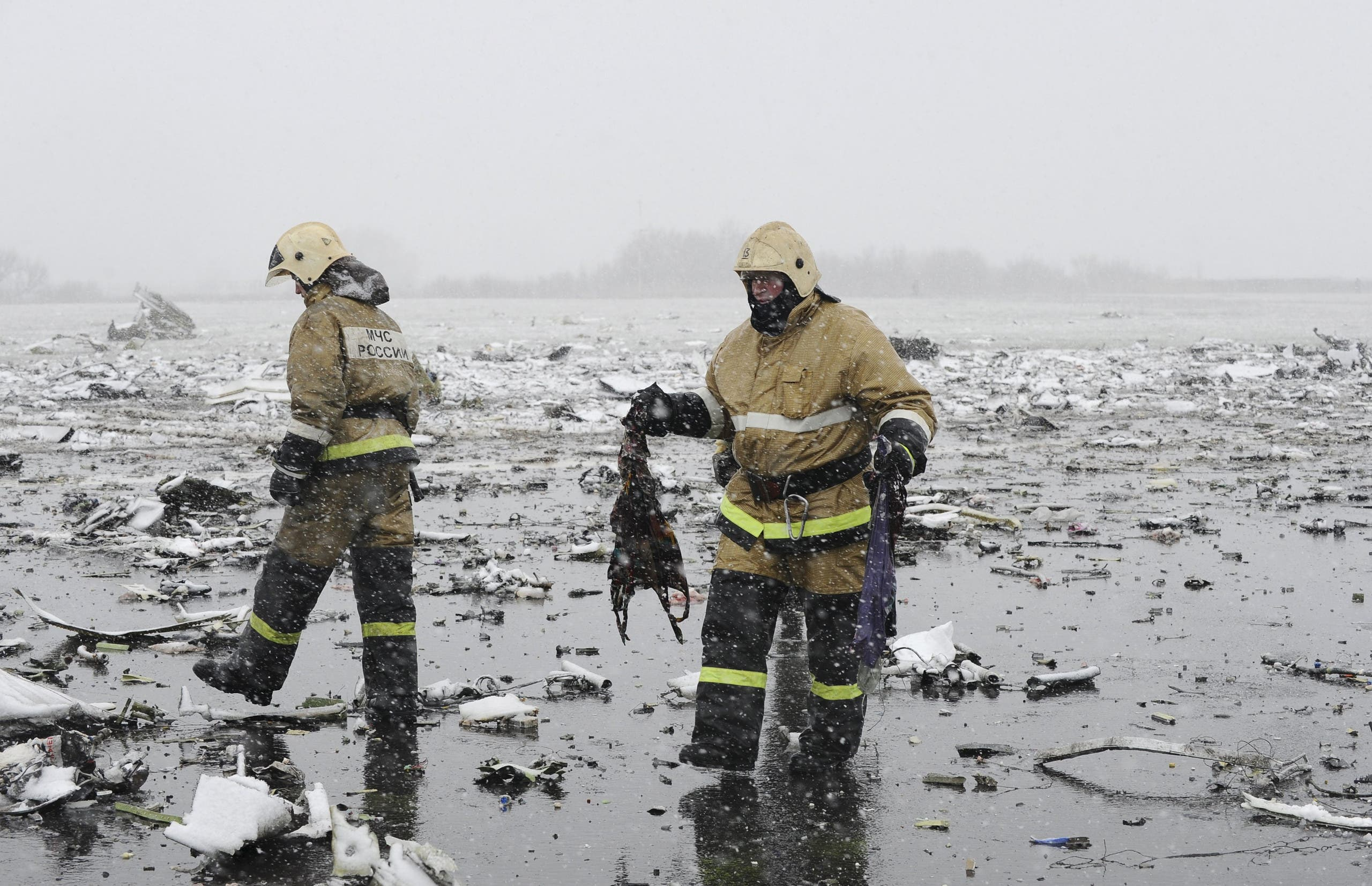 Flydubai flight crashes in Russia, killing 62 - Al Arabiya