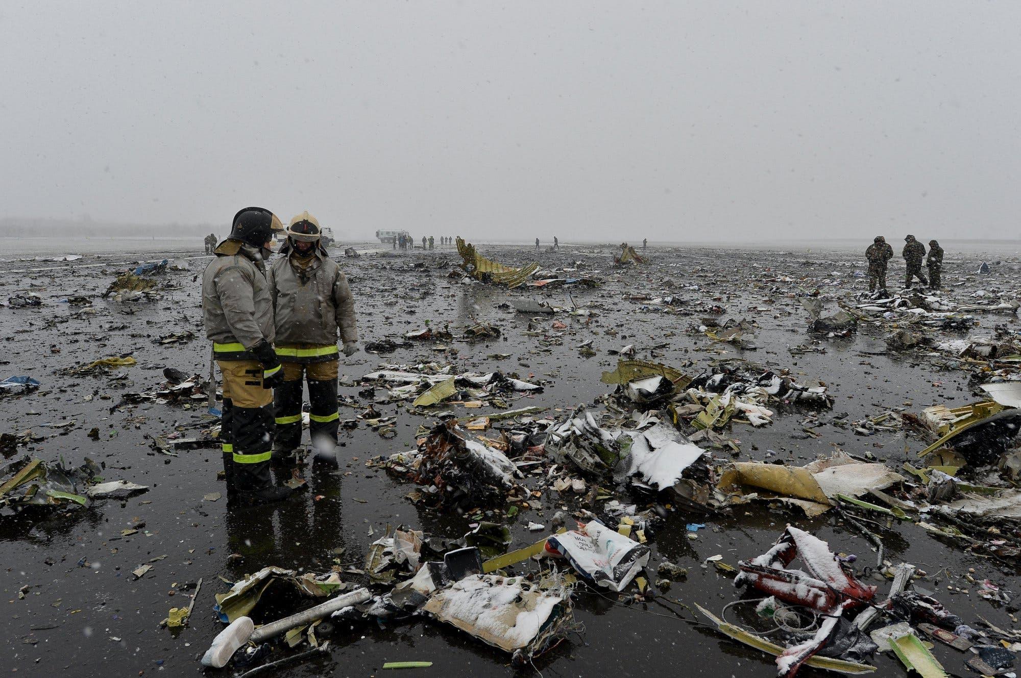 FlyDubai crash in Russia