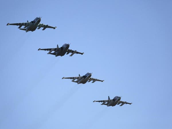 """طائرات روسية تقصف """"داعش"""" في دير الزور"""