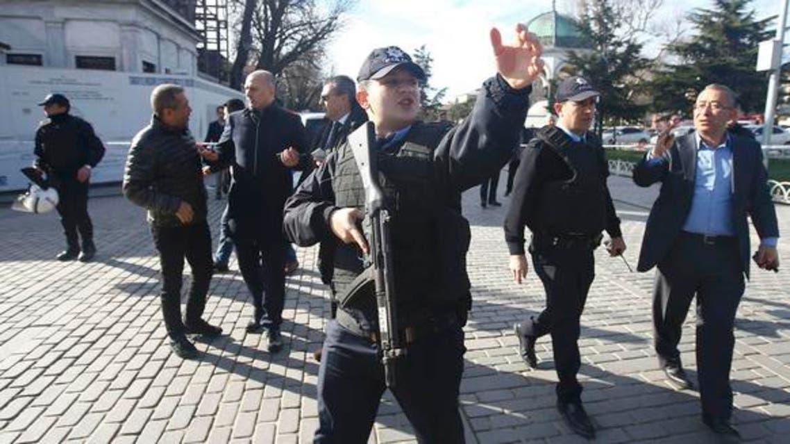 الشرطة التركية (الحدث)