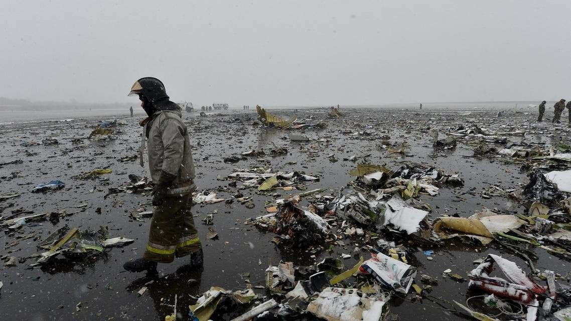 FlyDubai crash in Russia