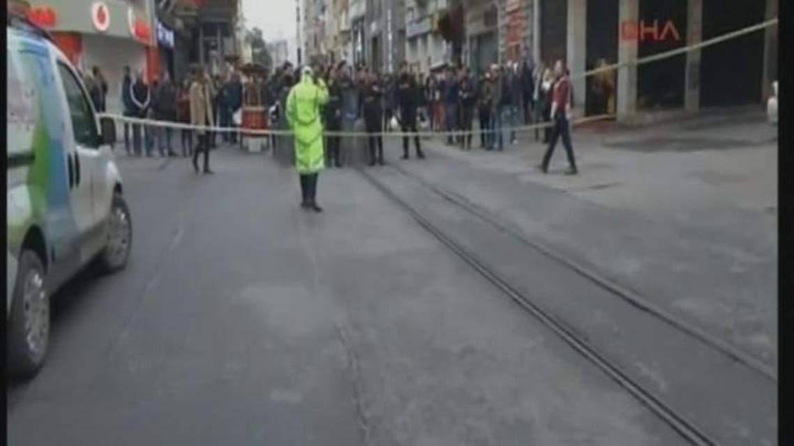 THUMBNAIL_ انفجار وسط اسطنبول يوقع عدداً من الجرحى