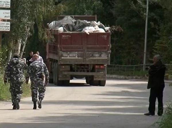 لبنان.. بدء إزالة النفايات المتراكمة منذ 8 أشهر