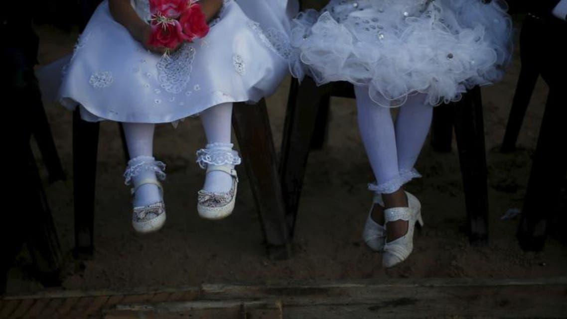 Child brides (Reuters)