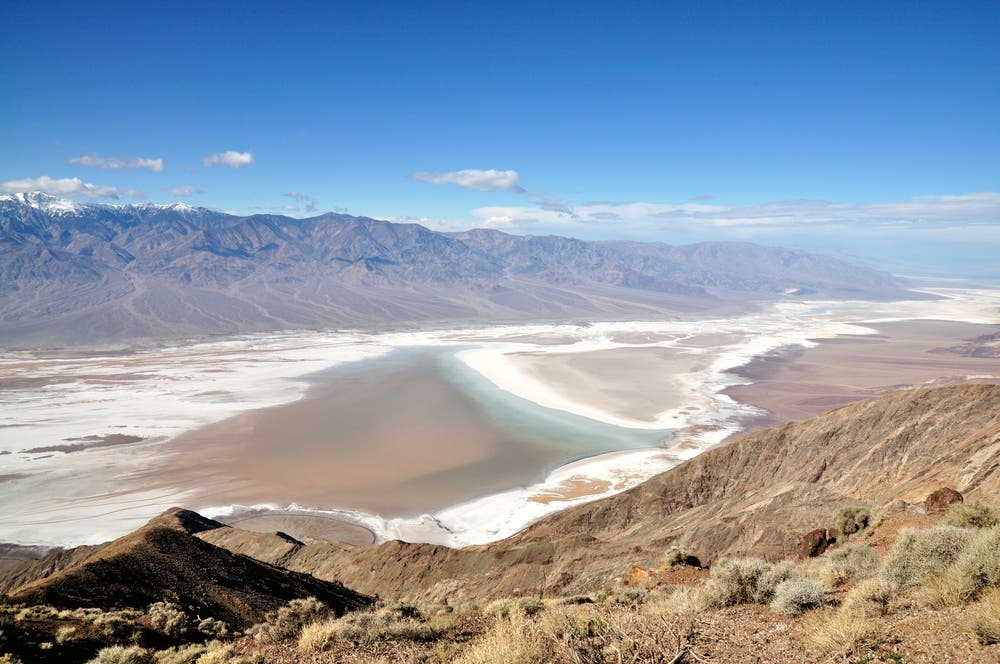 Dante's View - Death Valley National Park, California USA. (Shutterstock)