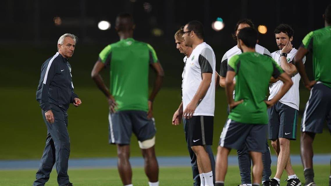 المنتخب السعودي فان مارفيك