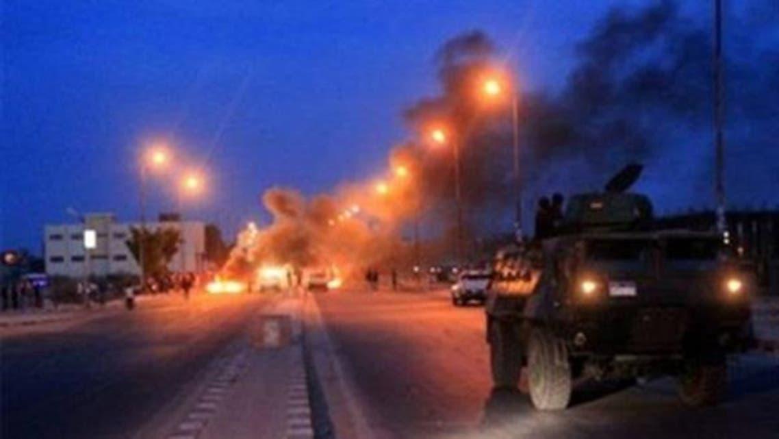 تفجير في سيناء