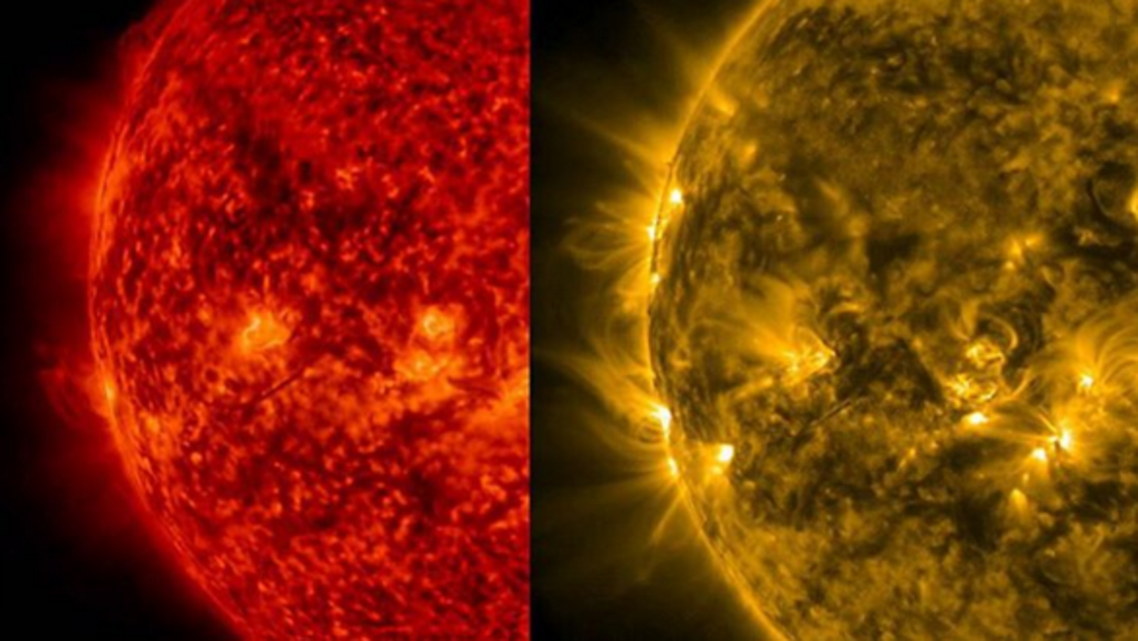 A time-lapse video depicting the Sun's life in 2015 has gone viral on social media. (NASA)