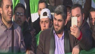 علوش: لا حل وسطاً مع النظام السوري