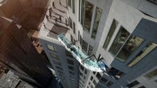 Would you ride a glass 'Skyslide' down a Los Angeles skyscraper?