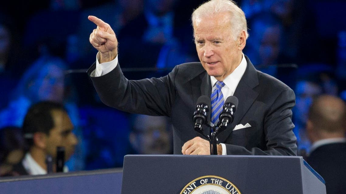 Vice President Joe Biden addresses the American Israel Public Affairs Committee Policy Conference in Washington, Sunday, March 20, 2016. (AP)