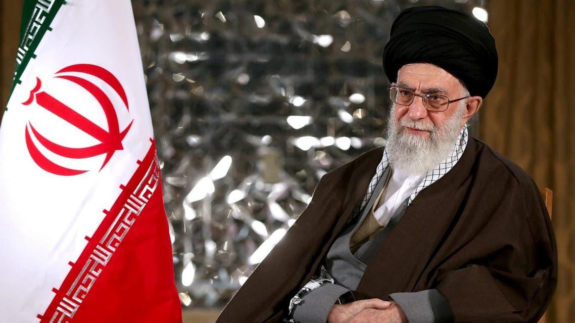 Iran's Supreme Leader Ayatollah Ali Khamenei poses before delivering a speech marking Iranian new year. (Reuters)