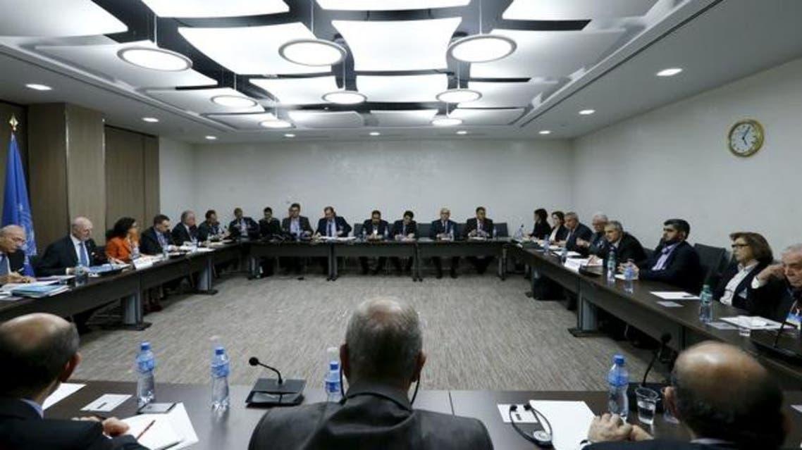 مفاوضات جنيف- سوريا