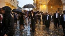 Obama arrives in Cuba for historic visit