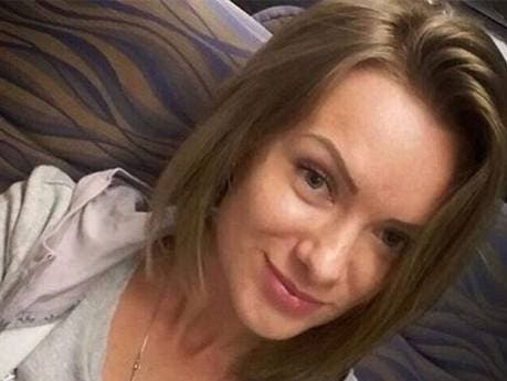 Anna Sergeeva is believed to have booked a last-minute ticket on the flight to visit Rostov-on-Don. (Photo courtesy: Gulf News/social media)
