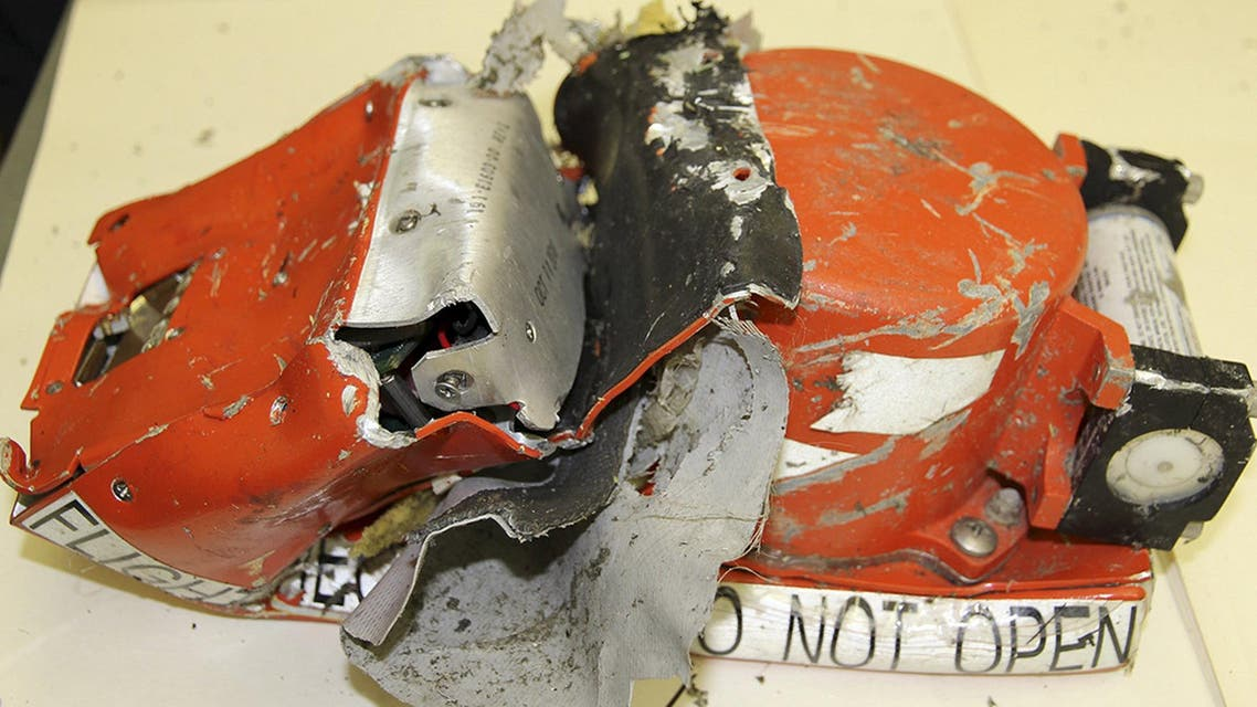 A flight recorder from the crashed Boeing 737-800 Flight FZ981 operated by Dubai-based budget carrier Flydubai, is seen in Moscow, Russia, in this handout image released by the Russia's Interstate Aviation Committee on March 20, 2016. REUTERS