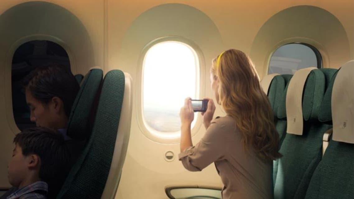 نوافذ الطائرة