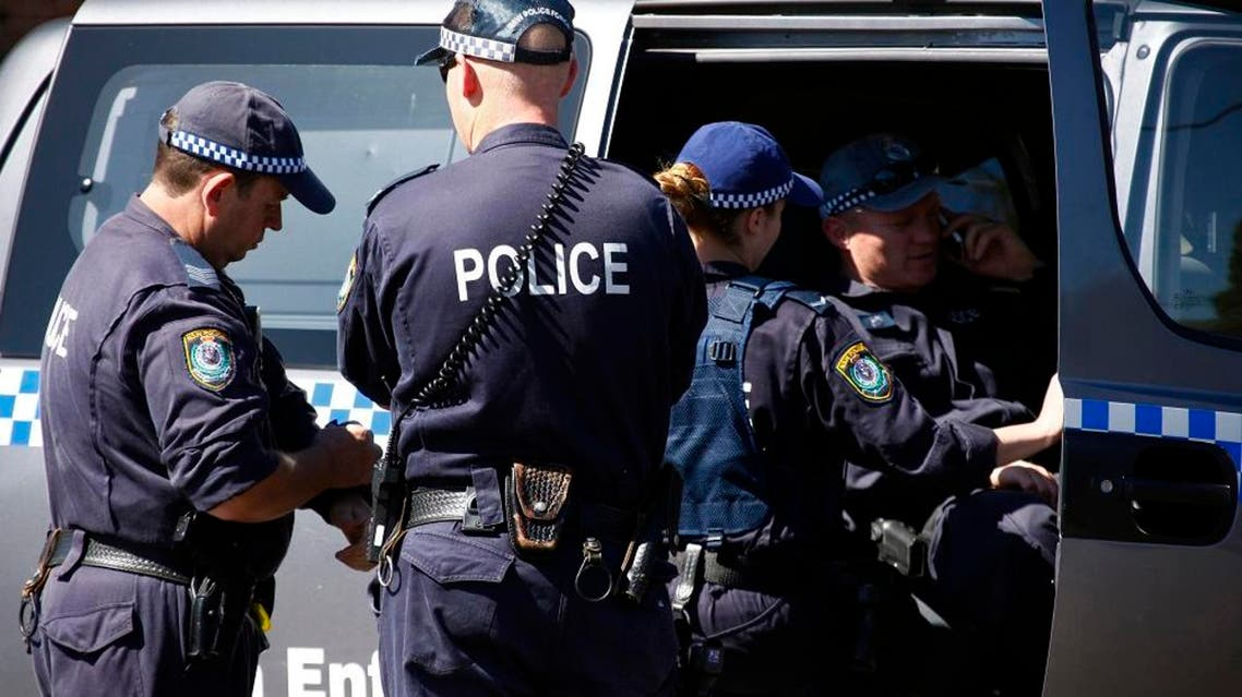 A 15-year-old boy opened fire on an accountant at police headquarters in the Sydney suburb of Parramatta last October and was then killed in a gunfight with police outside the building (Reuters)
