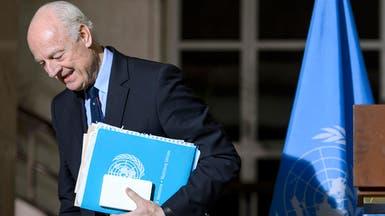 المعارضة السورية: جولة دي ميستورا غير مشجعة