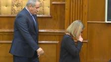 موغريني تبكي على هجمات بروكسل فتقطع مؤتمرا صحفيا بعمّان