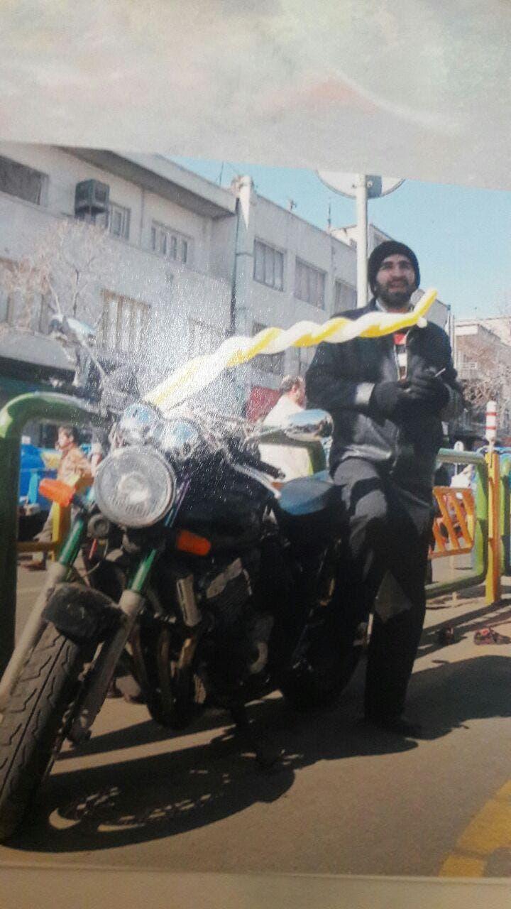 مجيد نان آور اثناء قمع الانتفاضة الخضراء عام 2009