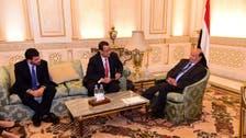الرئيس اليمني يلتقي المبعوث الأممي في الرياض
