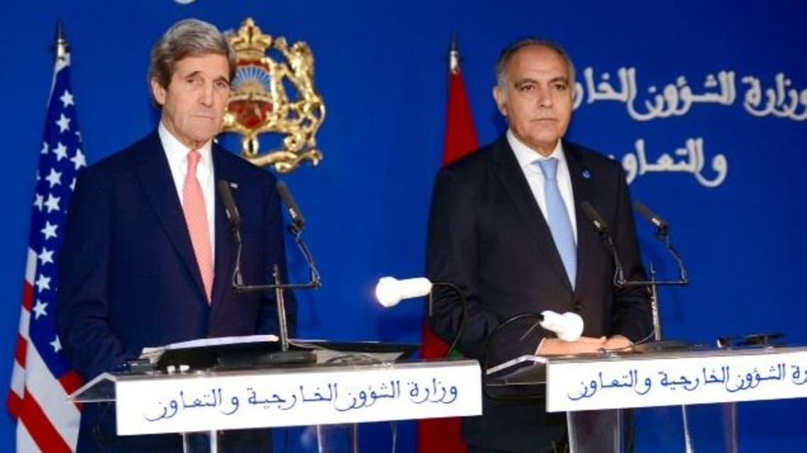 وزير الخارجية الأميركي في الرباط في زيارة رسمية سابقة قادته إلى المغرب (أرشيفية)