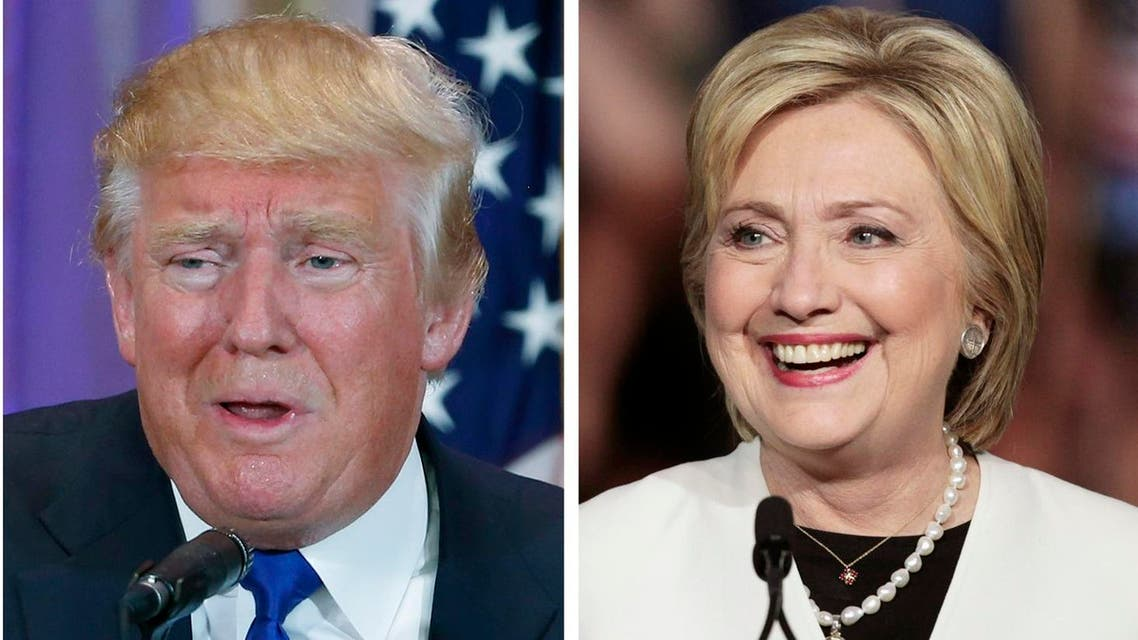 A combination photo of Republican US presidential candidate Donald Trump and Democratic US presidential candidate Hillary Clinton. (Reuters)
