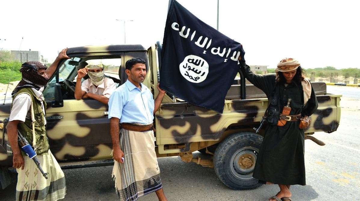 عناصر من تنظيم القاعدة في اليمن